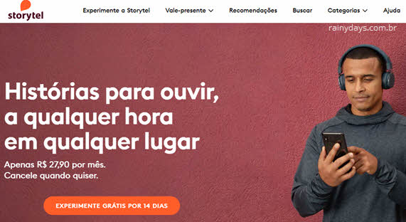 Como excluir conta do Storytel audiobooks podcasts