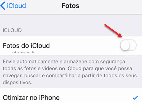 Como apagar fotos do iPhone sem apagar no iCloud