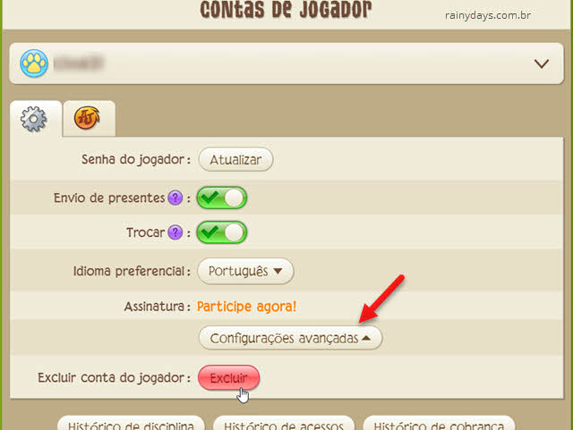 Como excluir conta do Animal Jam National Geographic