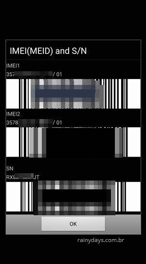Descobrir IMEI direto no aparelho Android ligando para código 06