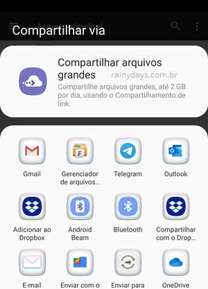 compartilhar arquivo database db.crypt WhatsApp
