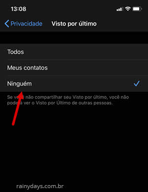 Desativar Visto por Último no WhatsApp Android e iPhone