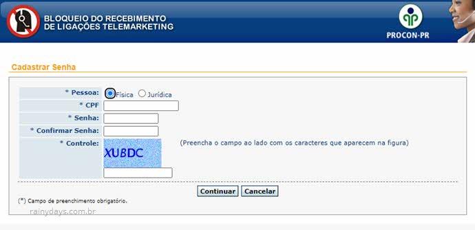 Como bloquear ligações telemarketing no Paraná
