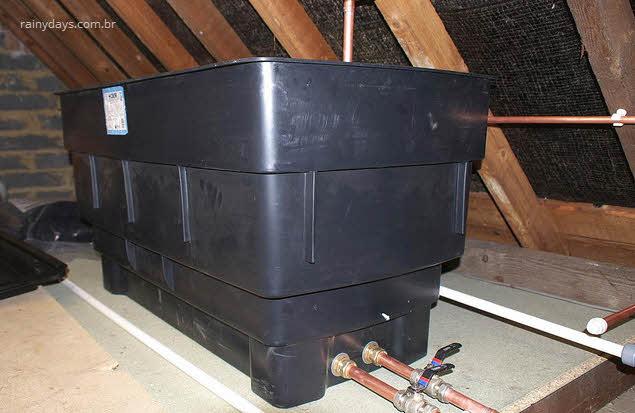 Como dimensionar e limpar caixa de água