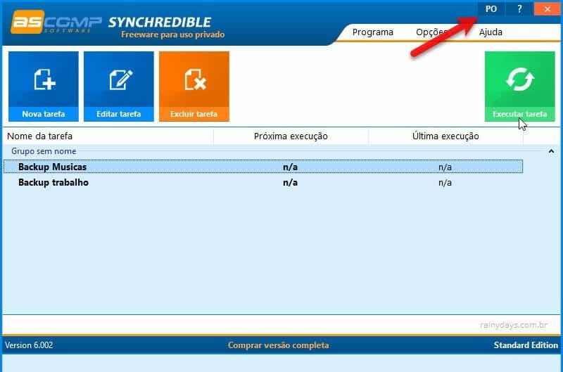 Programas para sincronizar arquivos no Windows para backup