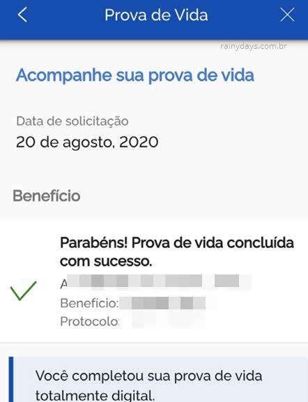 Processo oncluído com sucesso Meu gov.br