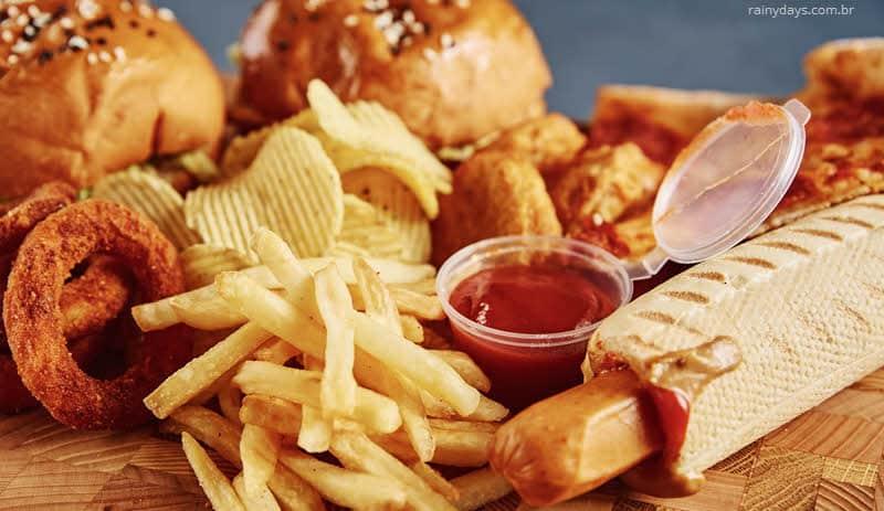 Dicas para reduzir o consumo de fast food