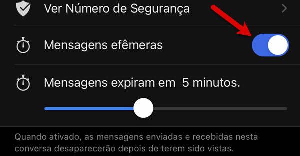 Como enviar mensagens que desaparecem no Signal do iPhone