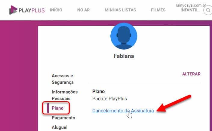 Como cancelar assinatura do PlayPlus, cancelar cobrança recorrente