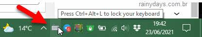 Como desabilitar teclado do computador temporariamente, bloquear, keyboard Locker