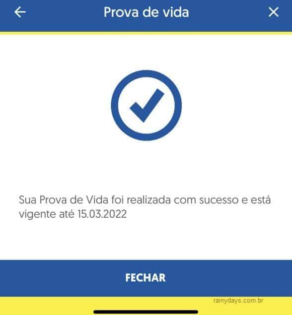 Prova de Vida INSS pelo aplictivo BB no Android iPhone