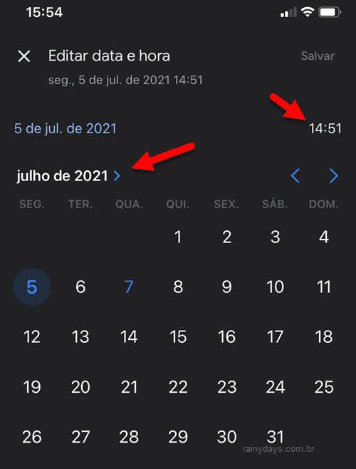 Como mudar data de fotos no Google Fotos app Android iPhone